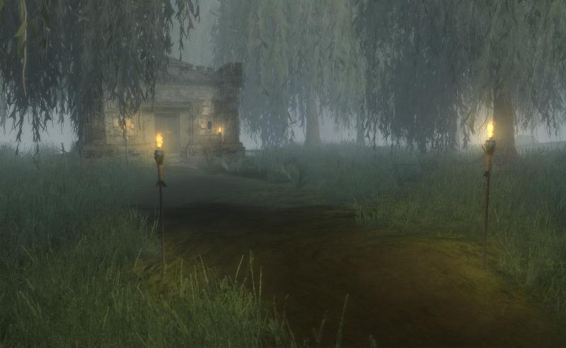 Screenshot: Krypta im Moor