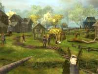 Das erste Spiel: Das Dorf