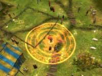 Das erste Spiel: Zauberzielgebiet