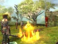 Das erste Spiel: Feuer