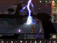 Magische Effekte: Blitz in Höhle