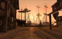 Screenshot: Hafen am Morgen