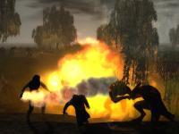 Screenshot: Feuerkampf